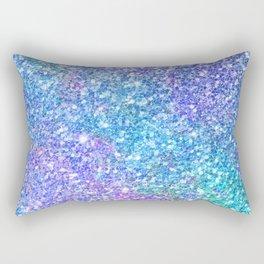 Colorful Glitter Texture Rectangular Pillow
