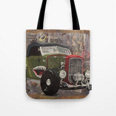 '32 Ford Roadster Warhawk Edition Tote Bag