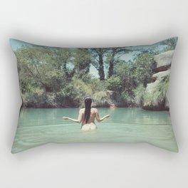 La mujer del lago Rectangular Pillow