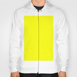PLAIN Fluorescent Yellow color PLAIN  YELLOW NEON colour Hoody