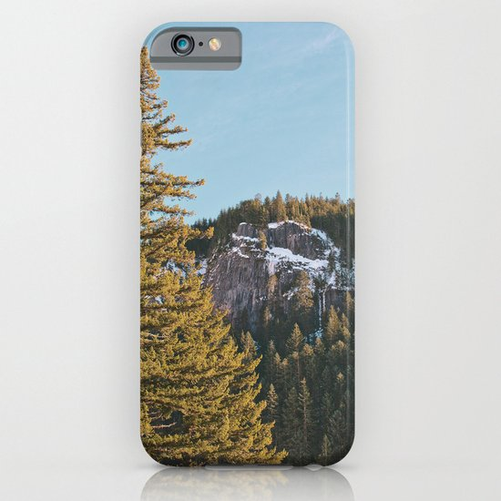 Trees in the Mountains iPhone & iPod Case