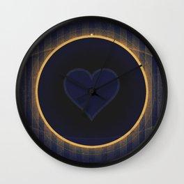 Pluto - The Heart Wall Clock