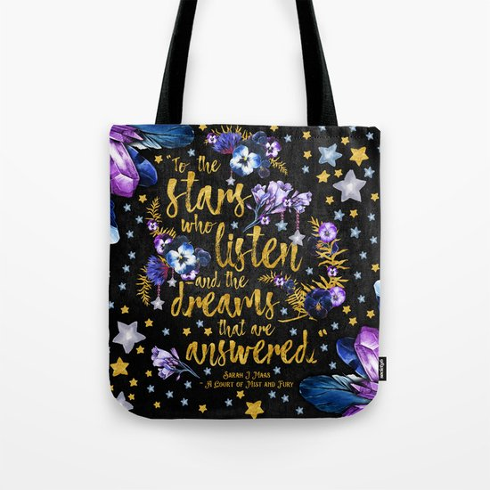 A Court of Mist and Fury - To The Stars Tote Bag