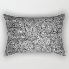 Pattern psychedelia Rectangular Pillow