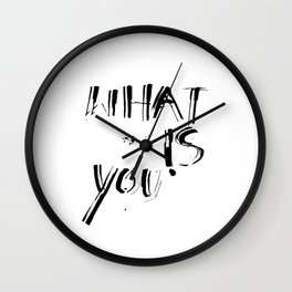 What is you Wall Clock