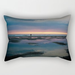 Cannon Beach Oregon Coast 4 Rectangular Pillow