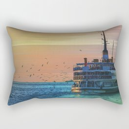 sunset ll Rectangular Pillow