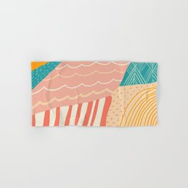 beach quilt Hand & Bath Towel
