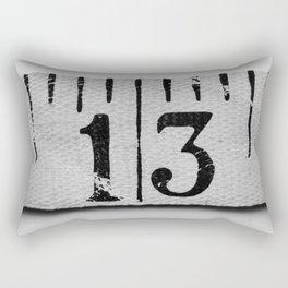 Unlucky 13 Rectangular Pillow