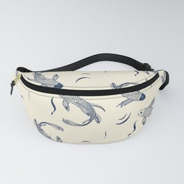 Japanese Koi Fish Pattern Fanny Pack