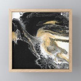 Black Obsession Framed Mini Art Print
