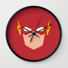 Flash Superhero Wall Clock
