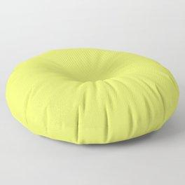 Florescent Yellow Floor Pillow