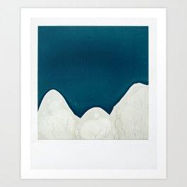 Mountains 27455C Art Print
