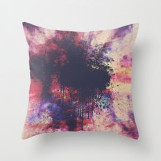New Age Retro Throw Pillow