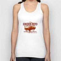 grand theft auto Tank Tops featuring SINGER AUTO by Skeleton Kiss