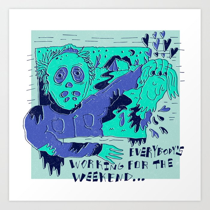 Friday the 13th X Loverboy Art Print
