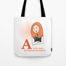 A is for Amy Tote Bag