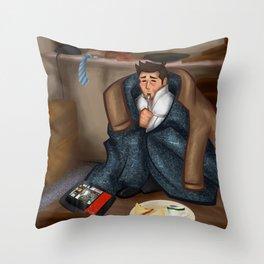 Comfy Castiel Throw Pillow
