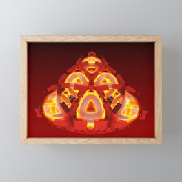 Enraged Monkey Framed Mini Art Print