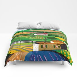 Green Fields Comforters