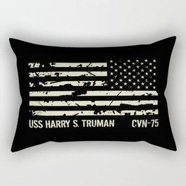 USS Harry S. Truman Rectangular Pillow