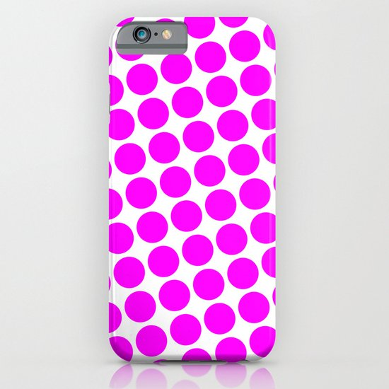 BIG PINK DOT iPhone & iPod Case