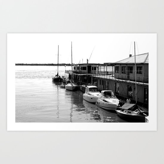 Corrientes Harbour Art Print