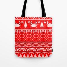 Ugly Maryland Christmas Sweater Tote Bag