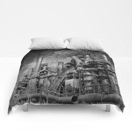 Bethlehem Steel Blast Furnace 9 Comforters