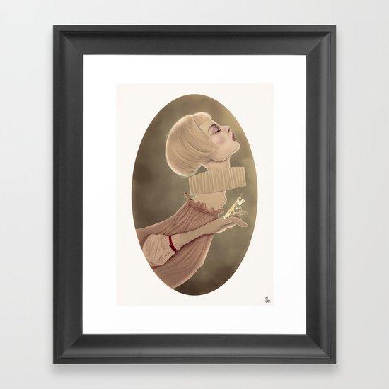 The Mantis Framed Art Print