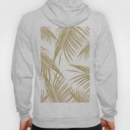 Gold Palm Leaves Dream #1 #tropical #decor #art #society6 Hoody