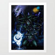 interstellar witch Art Print