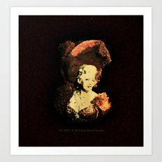 GO WEST - 023 Art Print
