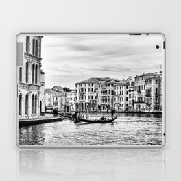 Gondola and tourists in Venice Laptop & iPad Skin