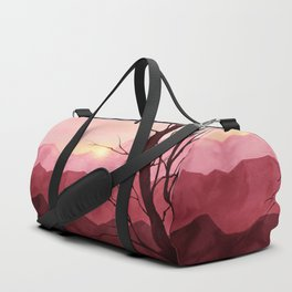 Sunset & landscape Duffle Bag