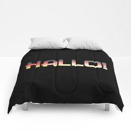 Hallo! Comforters
