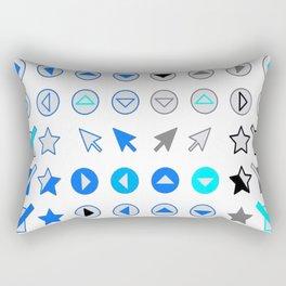 Symbology 2 Rectangular Pillow