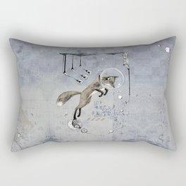 Relativity Fox Trot Rectangular Pillow
