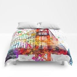 Golden Gate Bridge Grunge Comforters