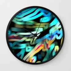 The Scarf Wall Clock