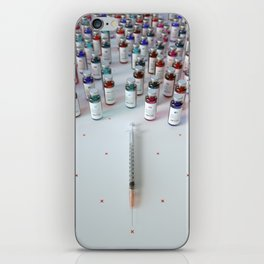 """Daily medicine"" iPhone Skin"