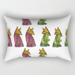 Fox Trot Mixup Rectangular Pillow