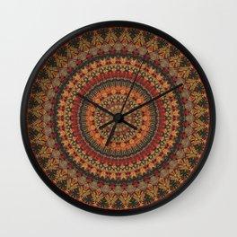 Mandala 563 Wall Clock