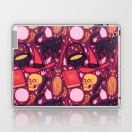 Witch Supplies in Wine Laptop & iPad Skin
