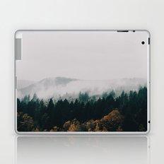 Forest Fog Laptop & iPad Skin