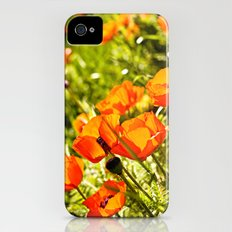Poppy Field iPhone (4, 4s) Slim Case