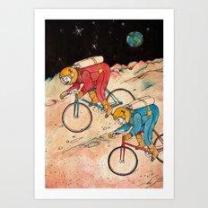Lunar Keirin Art Print