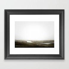 BARREN WASTELAND Framed Art Print