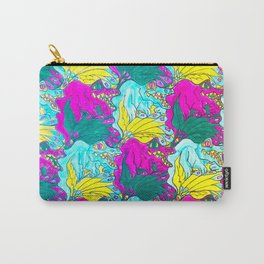The Alligator Grins / The Peacock Weeps Carry-All Pouch